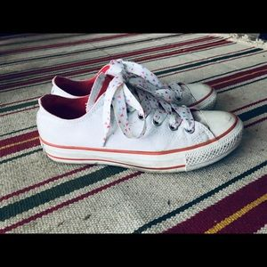 Converse All Star White Sneaker Special Edition